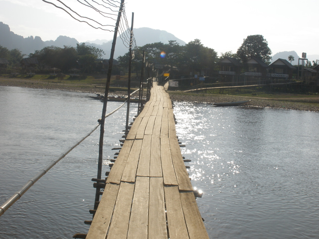 bridge over Nam Song River