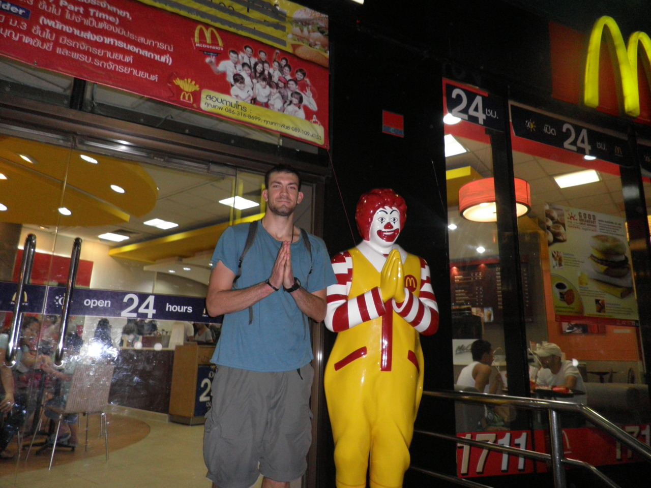 Ronald in Thailand.