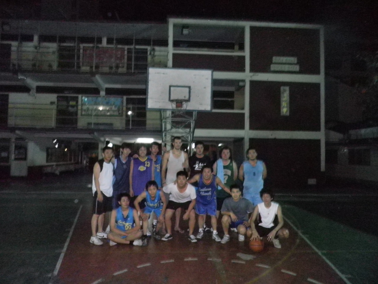 The team and I after practice.