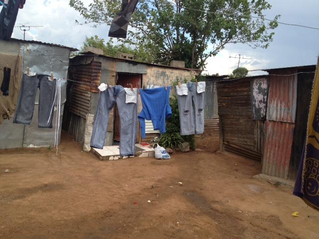 Soweto squatter shanties