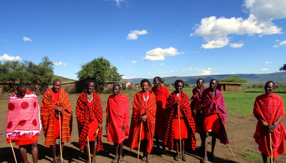 Maasai Welcoming Committee