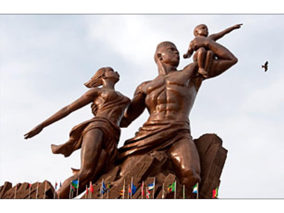 African Renaissance Monument - Dakar, Senegal