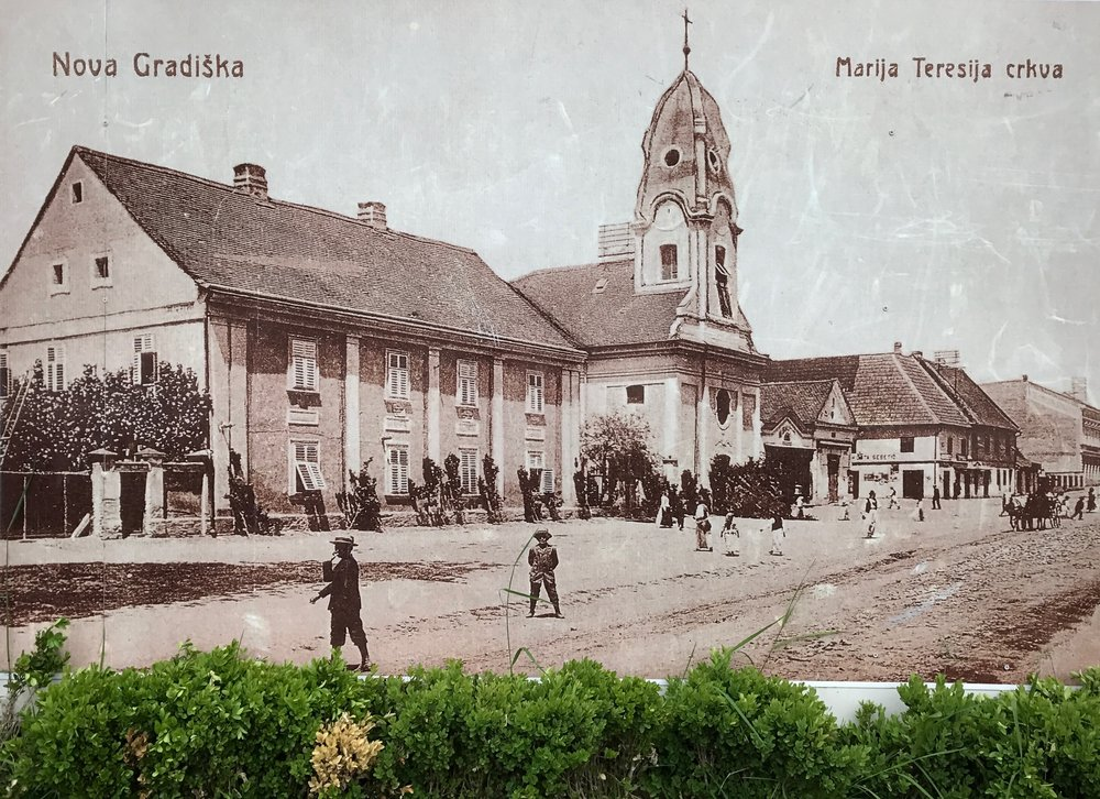 Marija Teresija Church - late 1800s?