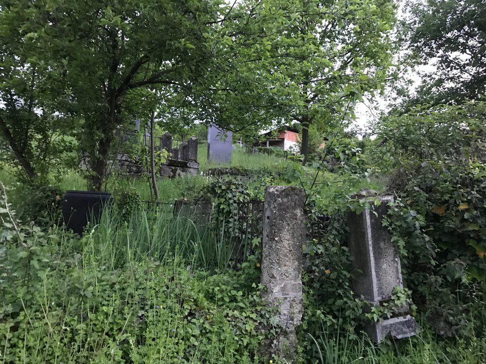 The old Jewish Cemetary.  Last internment 1942