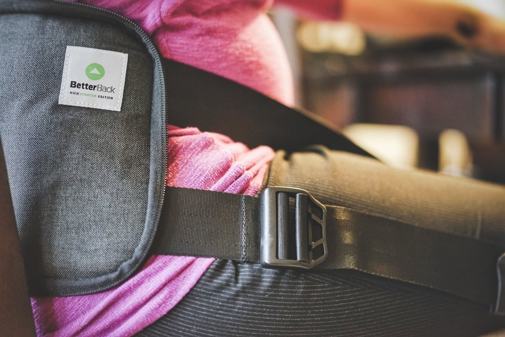 Next-gen back support - BetterBack by BetterBack