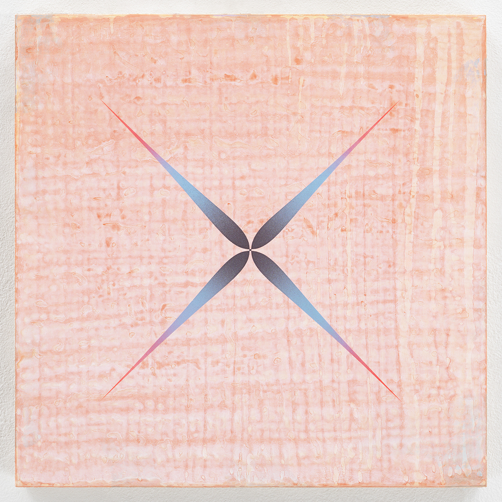 Buttonhole , 2014  Acrylic on panel  12 x 12 inches