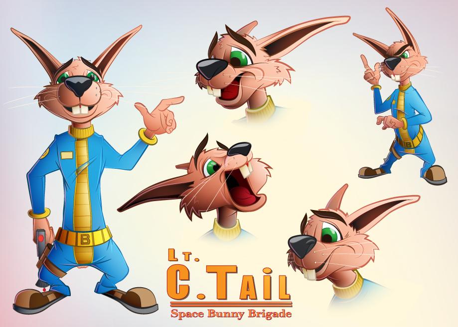 Lieutenant C. Tail