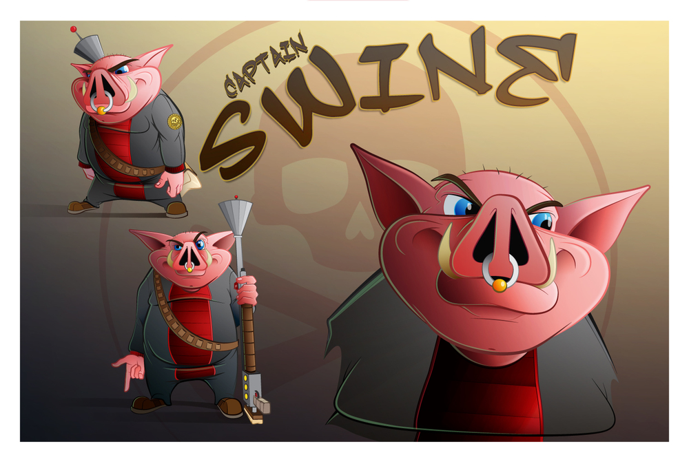 Captain Swine: Space Piracy Federation