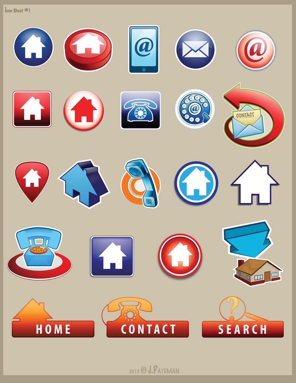 Icon Sheet 1