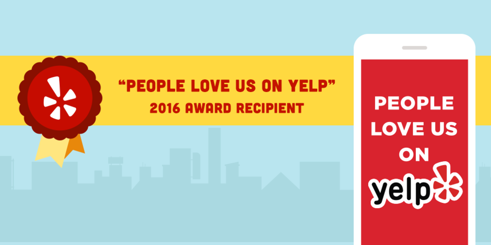 *Yelp & Angies List Super Service Award Winner