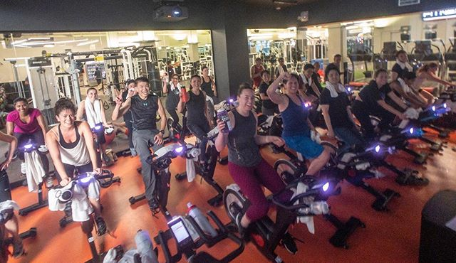 I love teaching #indoorcycling @fitnesssf. Today #newyearsday I got to teach a 90 min packed class while the rest of the gym was empty.  I am so fortunate to have such an incredibly hardworking group of people who come to my class each week and bring such amazing energy.  Everyone made it the full 90. Thank you. #90for19 #happynewyear2019