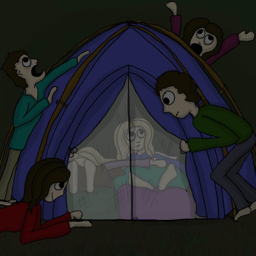 under tent siege