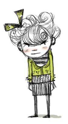 Abigail Halpin Illustration of Cranky Pants