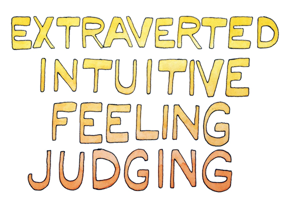 Personality Extraverted Intuitive Feeling Judging Myers-Briggs