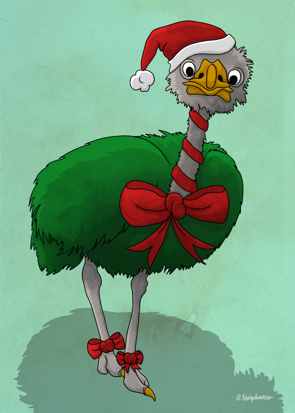 Christmas Ostrich.jpg