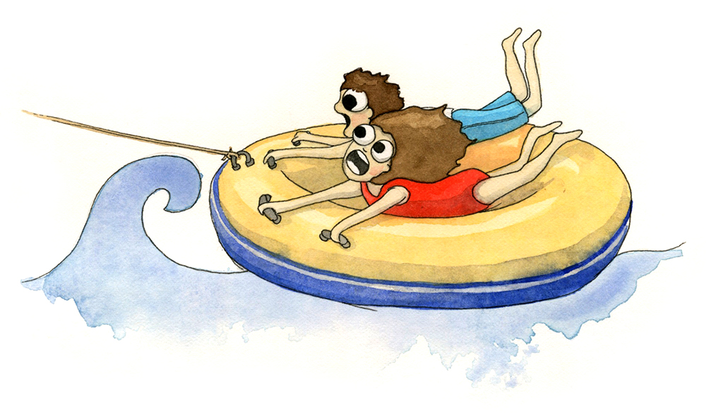 T is for Tubing. And also, Terrifying.