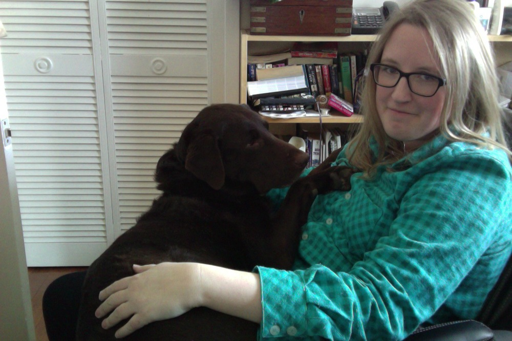 Couldn't resist... Finn crawled up on my lap while I was writing that last paragraph! I had enough time to snap this with Photo Booth before he realized he isn't a lap dog, panicked, and fell off. Ha!