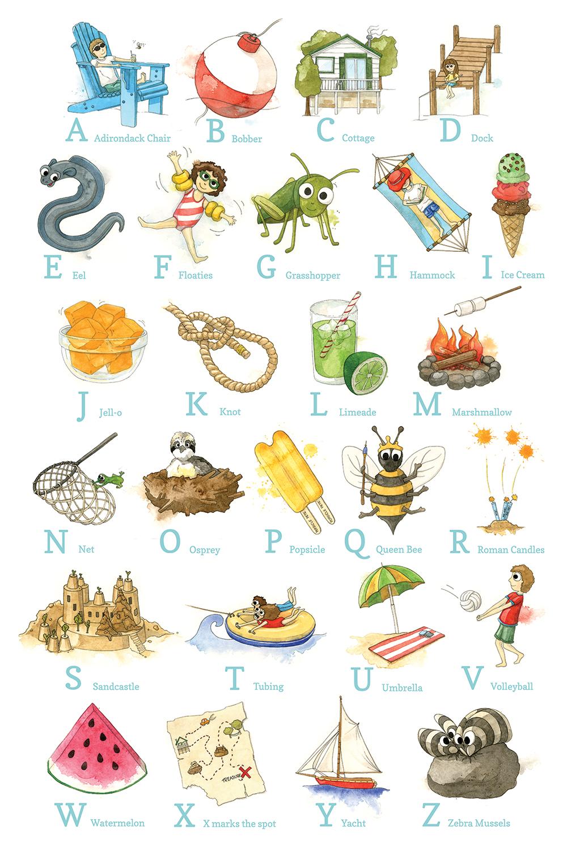 alphabetposterbyamandafarquharson