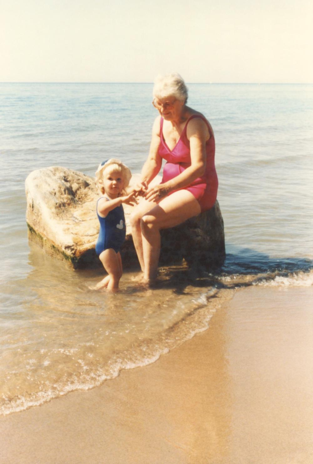 Me and my Grandma Summer 1985
