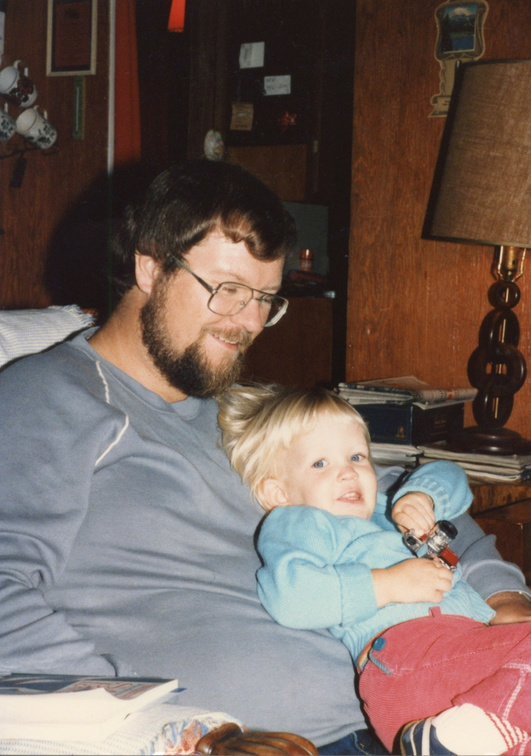 My dad and I -- October 1985