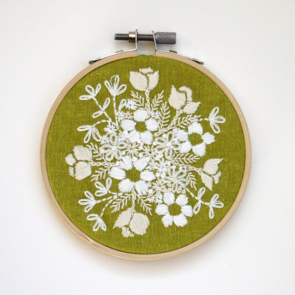 Embroidery 6 - White Floral on Green - 4 Inch.jpg