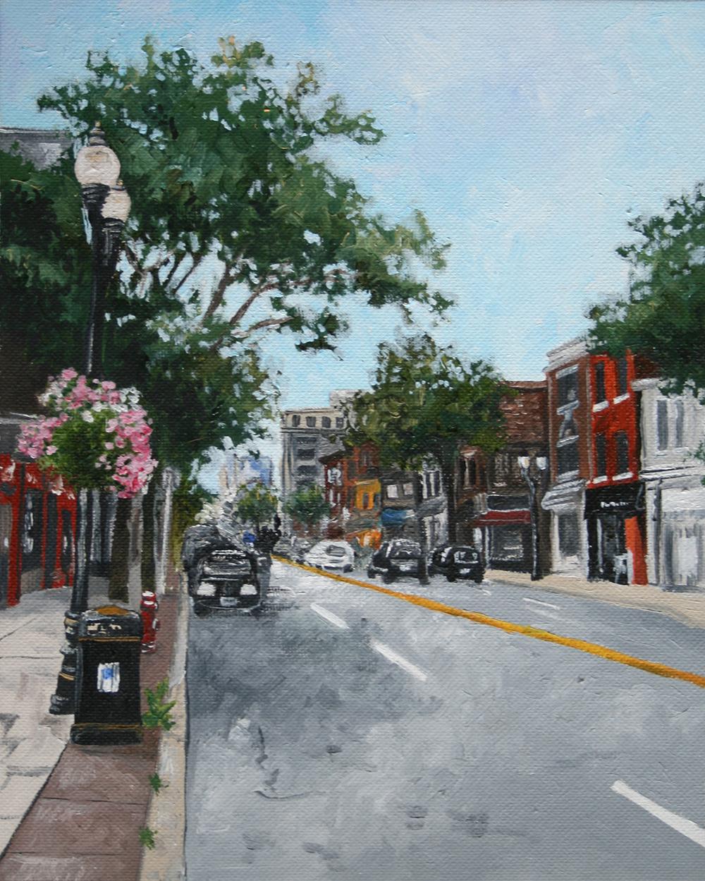 James St. N., Hamilton Street Scene, 8 x 10 - Amanda Farquharson