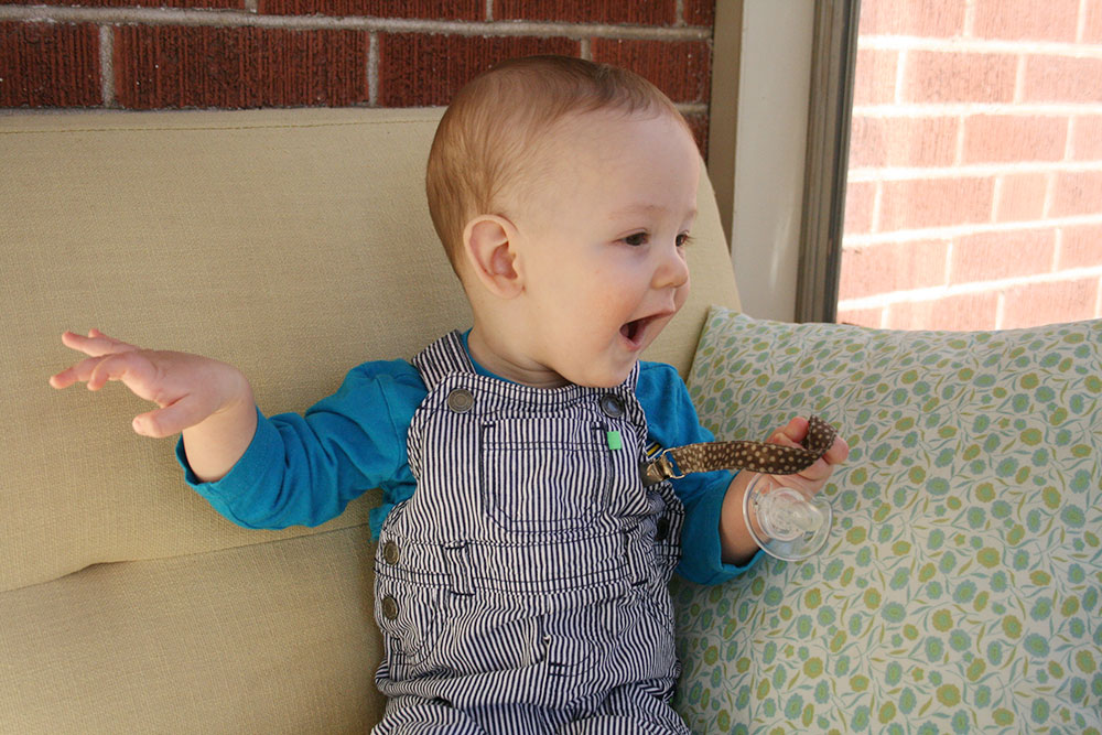 James at 7 Months