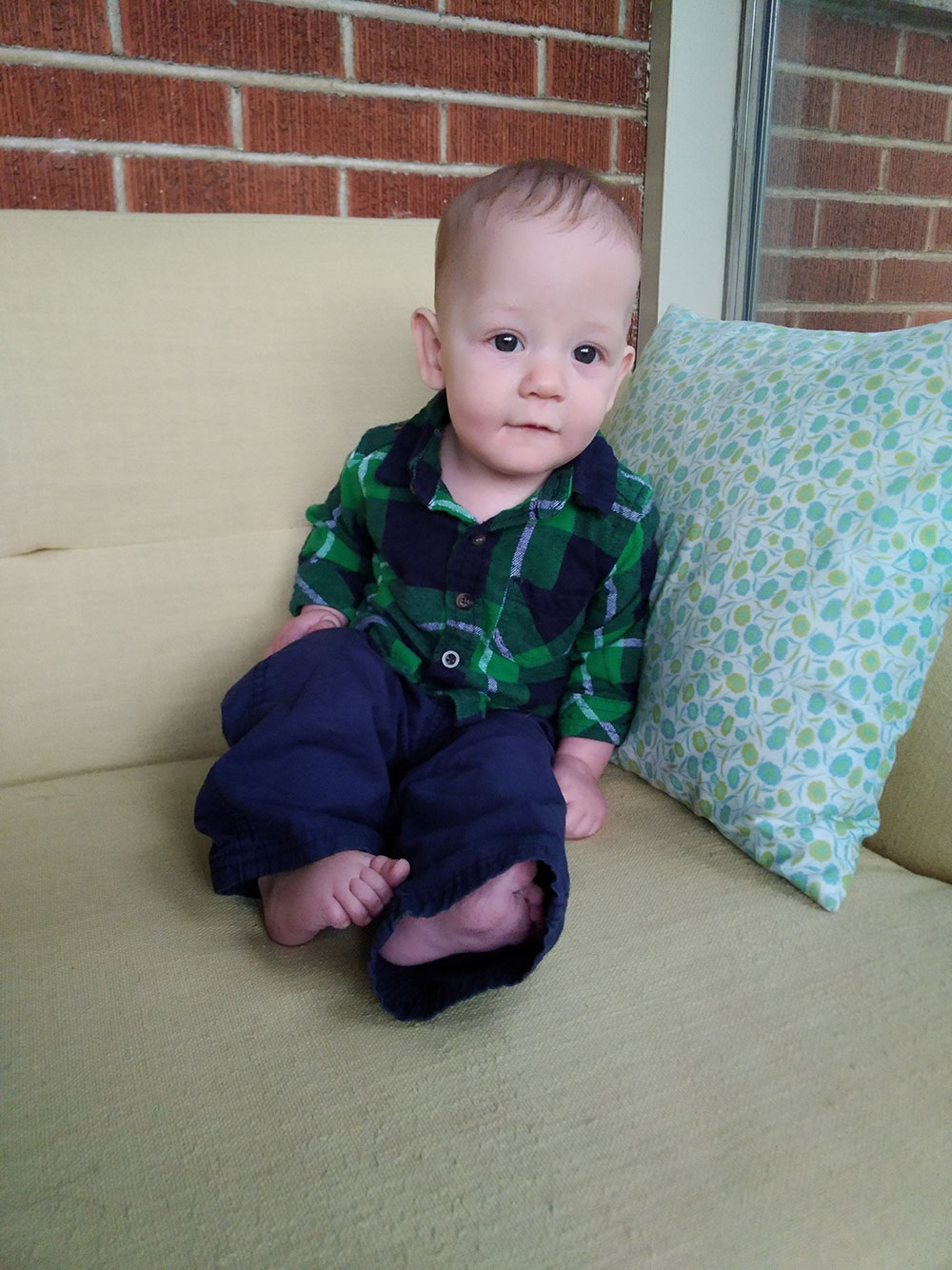 James at 6 Months Old