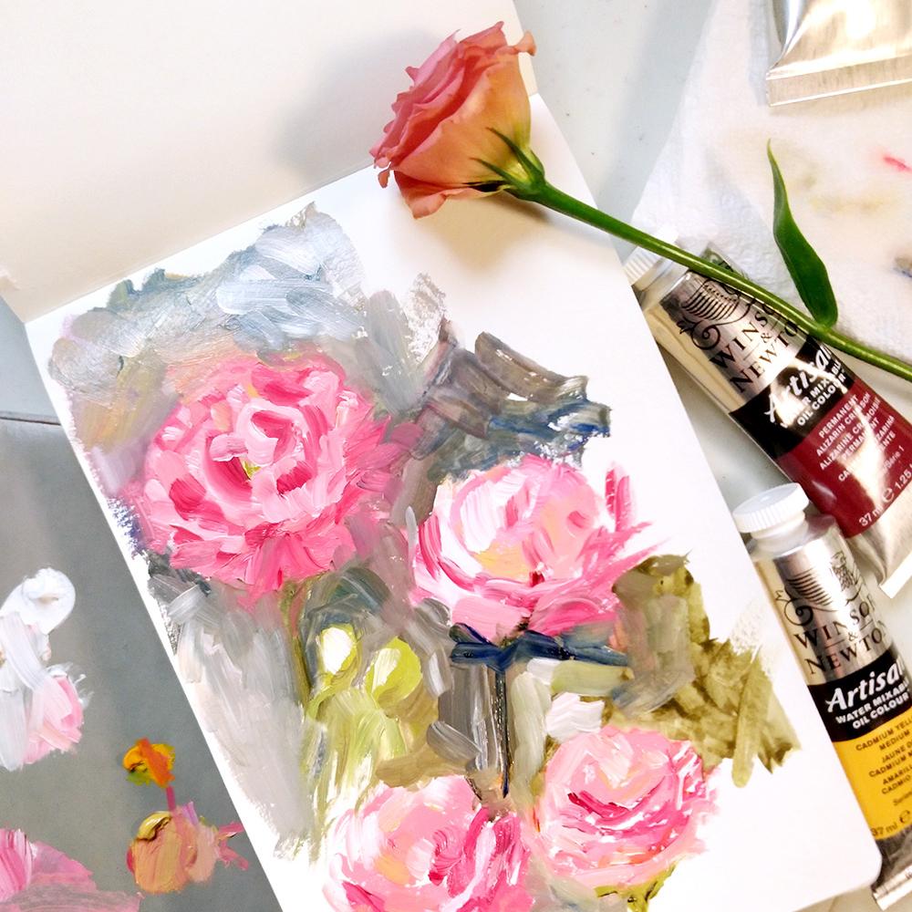 Oil Sketchbook Roses by Amanda Farquharson.jpg