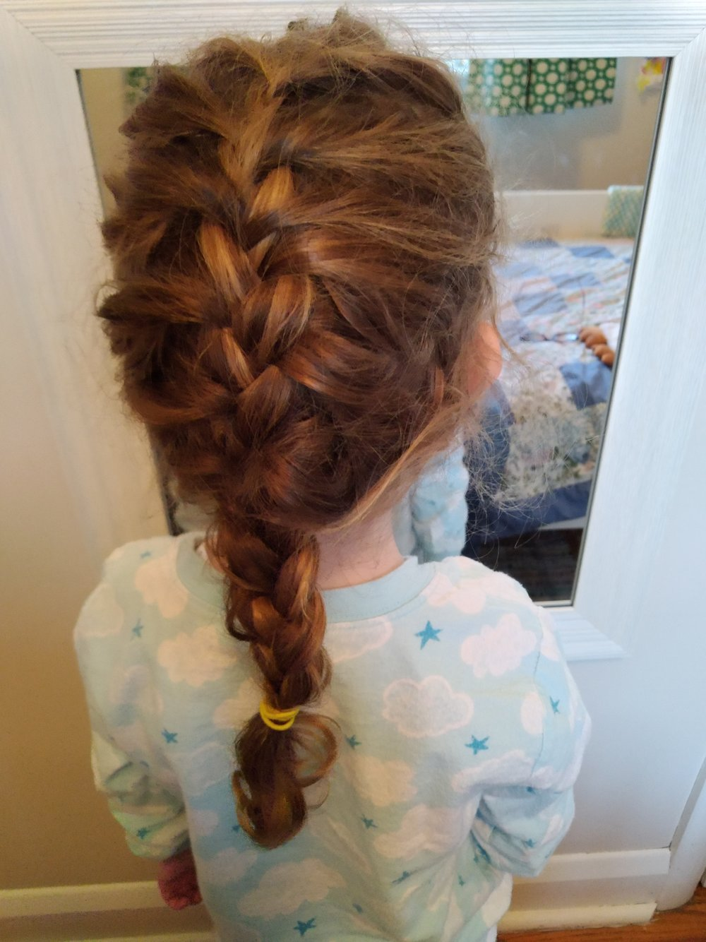 Bedtime braid and snuggly jammies
