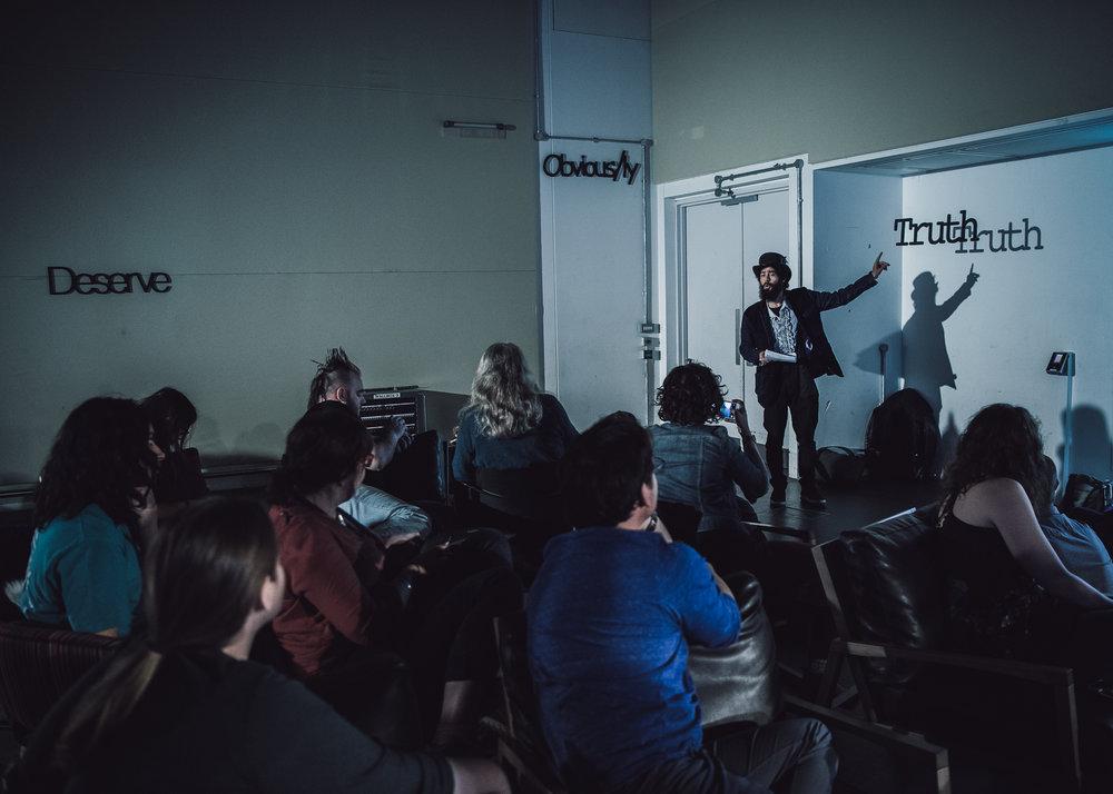 Mozilla Festival, Ravensbourne College, London UK