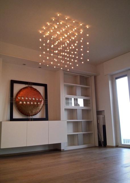 LED Carpet Cube Lamp-Le Meduse