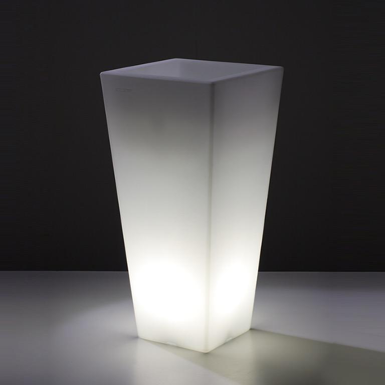Vaso Quadro Alto-Plart Design