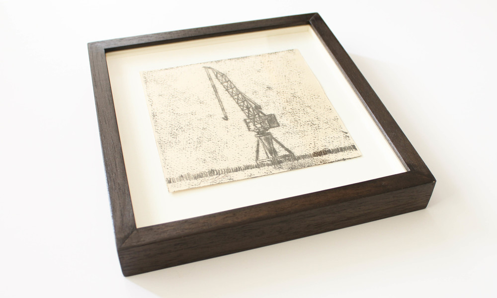 LOT 18 Frank To Govan's Crane Monoprint