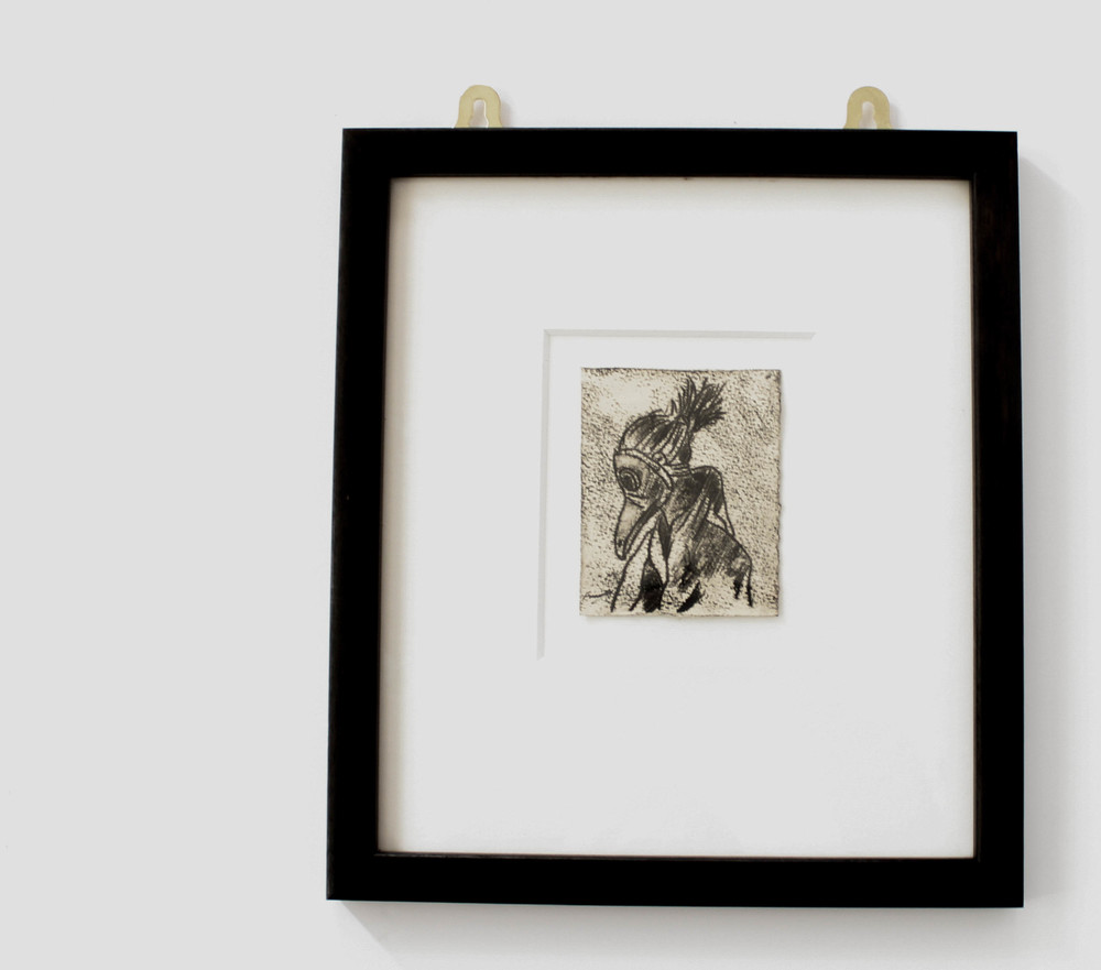 LOT 19 Frank To The Parasitologist Monoprint