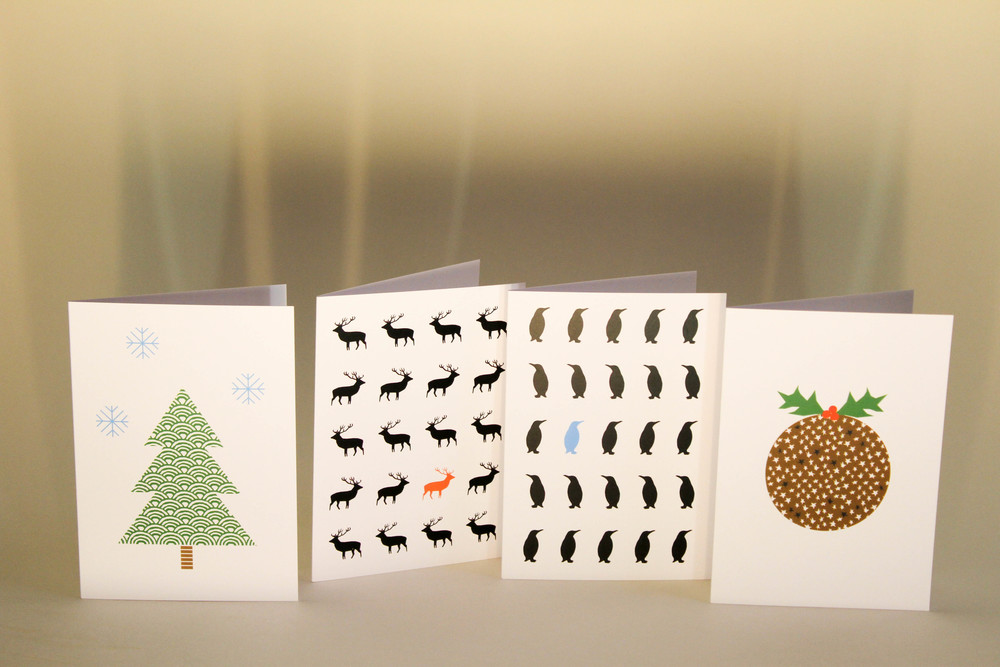 Cards by Ingrid Petrie will be on sale
