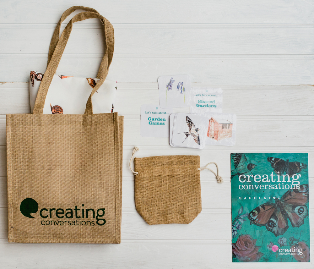 The Creating Conversations Social Activity Kit - Gardening ***buy now via the website http://creating-conversations.org/shop/ or call 01786 455706 to talk with an adviser***