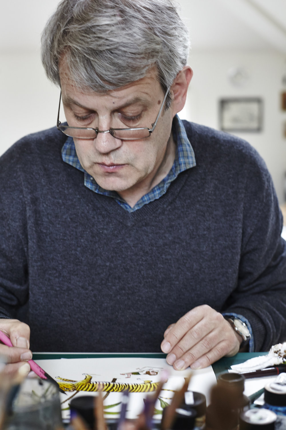 Axel Scheffler photographed by Liam Jackson