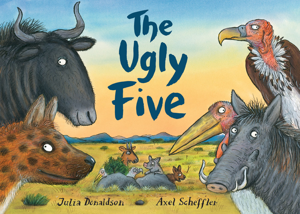 Illustration from The Ugly Five © Julia Donaldson and Axel Scheffler.
