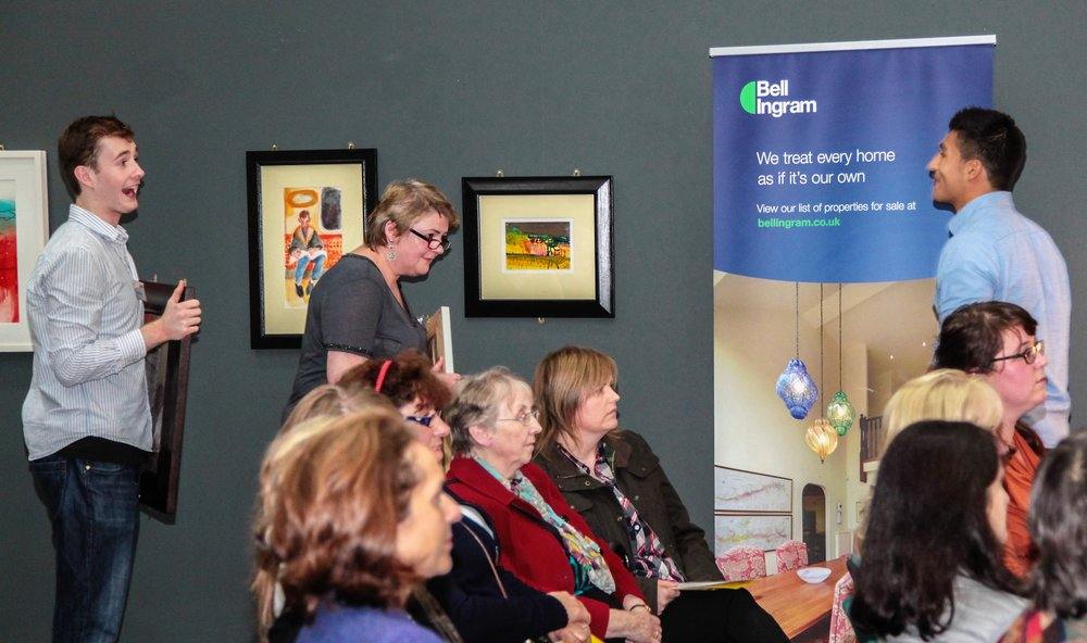 - Artlink Central's successful series of events 'Art off the Rock' were sponsored by Bell Ingram