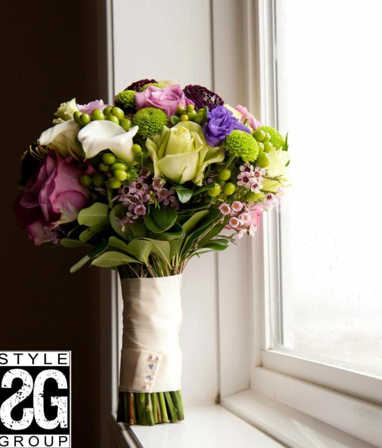 WEDDING FLOWERS, GRAND OLYMPIA WEDDING, HAMILTON WEDDING, BOUQUET