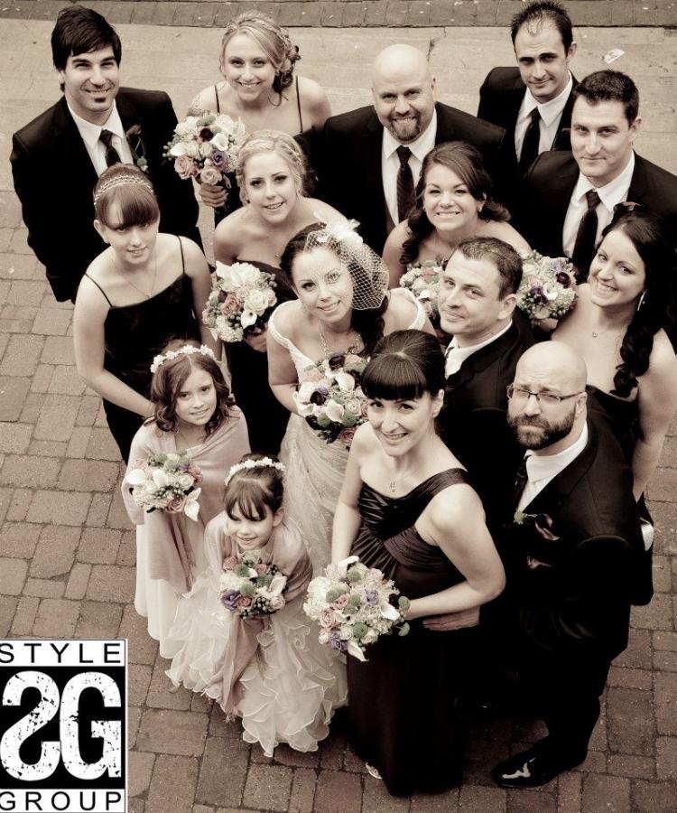 WEDDING FLOWERS, HAMILTON WEDDING FLORIST, GRAND OLYMPIA