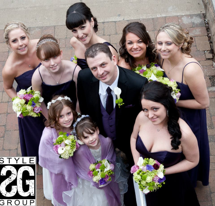 WEDDING FLOWERS, HAMILTON WEDDINGS, GRAND OLYMPIA