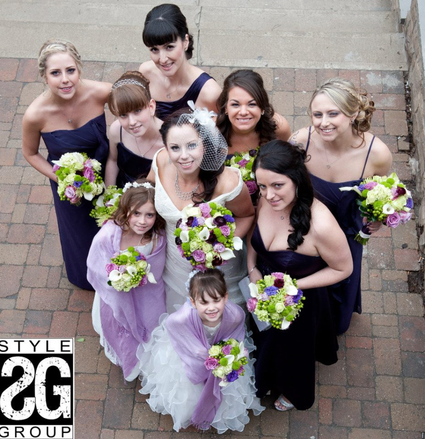 WEDDING FLOWERS, HAMILTON, GRAND OLYMPIA WEDDING