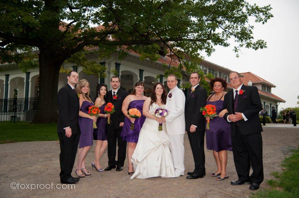 GERALDOS AT LASALLE PARK, BURLINGTON WEDDING
