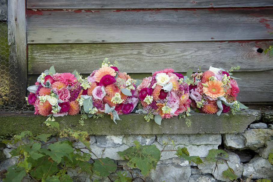 hamilton wedding flowers