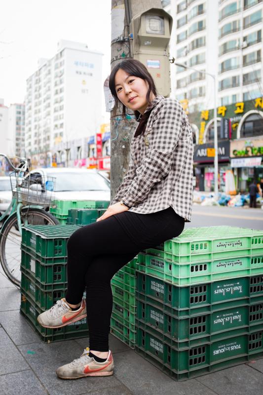 Anna - Jeonju, South Korea - February, 2014