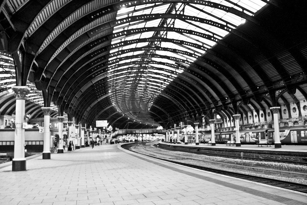How can you manage asset data quality in the rail sector? Image of York train station, creative commons.