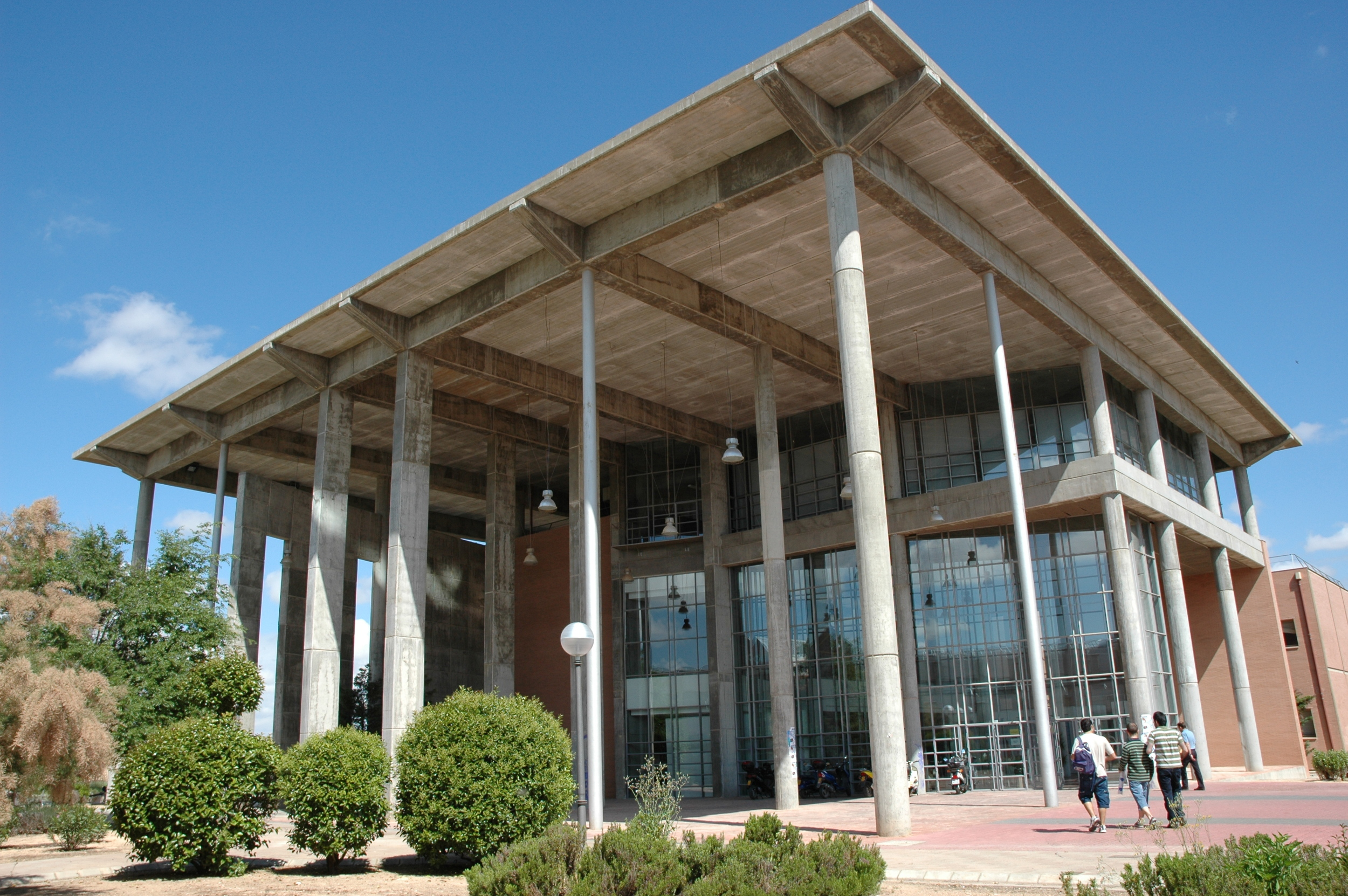 Building within University of Castilla La Mancha, Spain