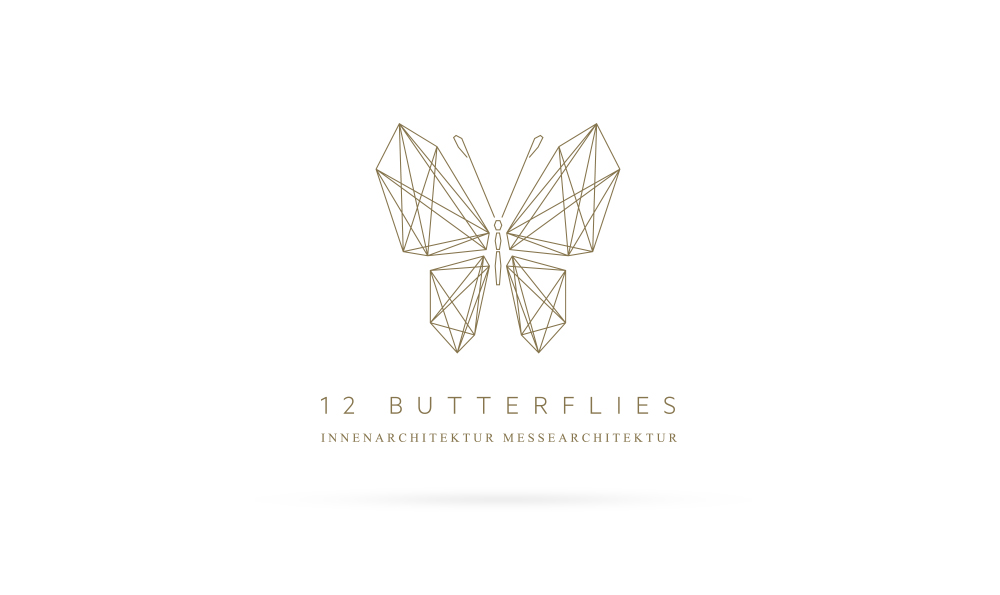 12 Butterflies — Candy Black | Boutique Design Agency